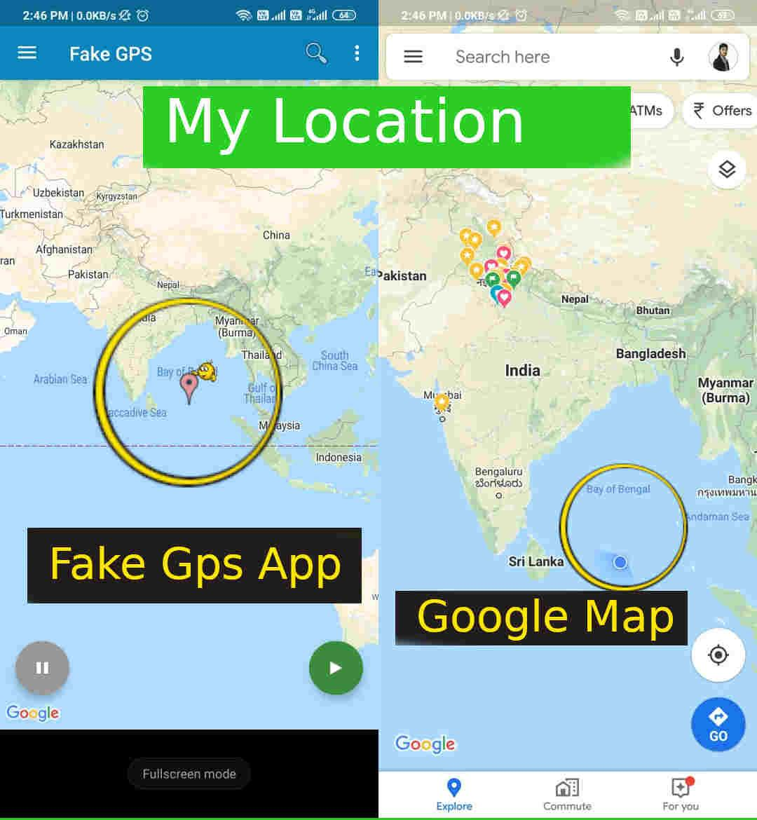 change phone location Most Interesting Android Apps